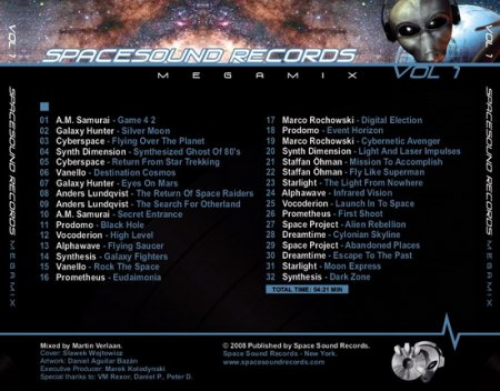 Space Sound Records Megamix Vol. 1 (2008)