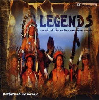 Navajo - Legends - sounds of the native american people (2000)