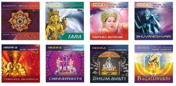 Indra - Tantric Celebration 1-8 (2006-2010)